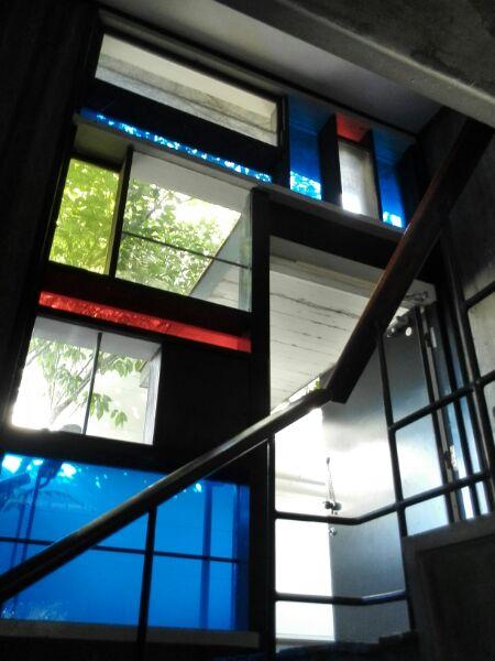 吉阪隆正-浦邸玄関ホール,神戸,設計事務所