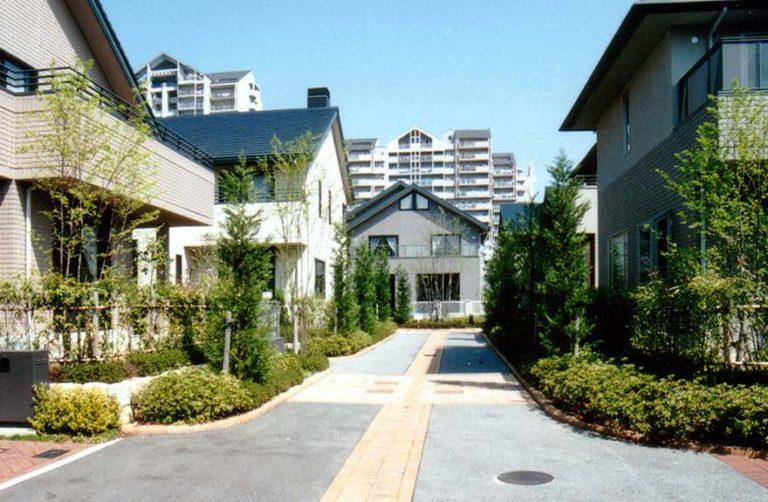 六甲アイランド街並み,神戸,設計事務所