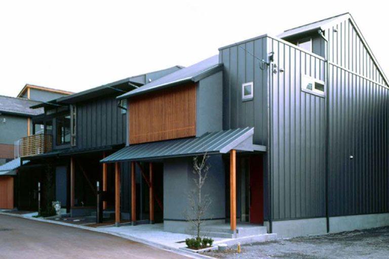 北大路まちなか住宅コラボレーション02完成街並み,神戸,設計事務所