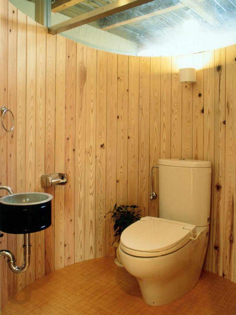 円形トイレ,神戸,設計事務所