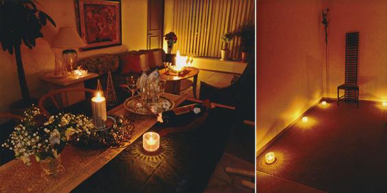 ホームパーティの光の演出,神戸,設計事務所