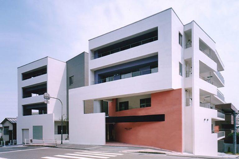 VENUS COURT外観,神戸,設計事務所