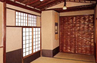 武者小路千家 行舟亭 壁床,神戸,設計事務所