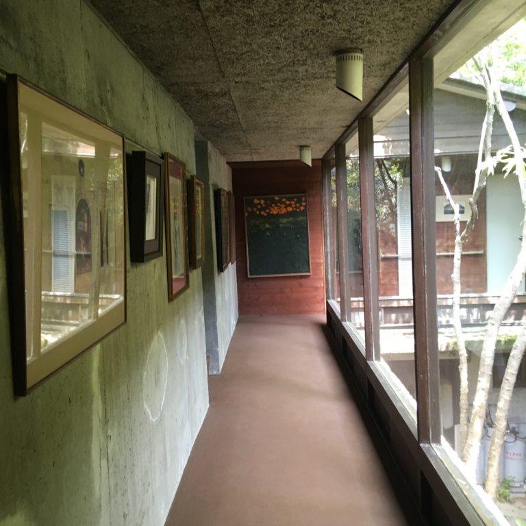 目神山の家,ギャラリー廊下,神戸,設計事務所