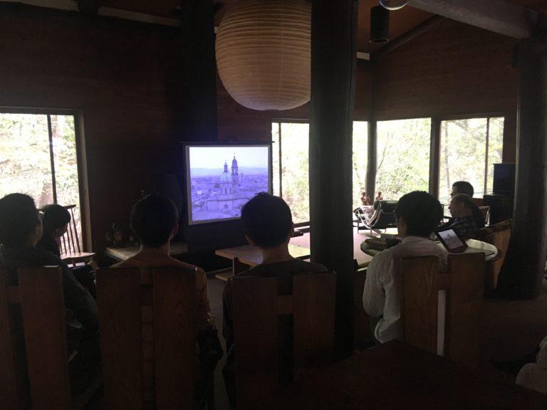 目神山の家スライド上映,神戸,設計事務所