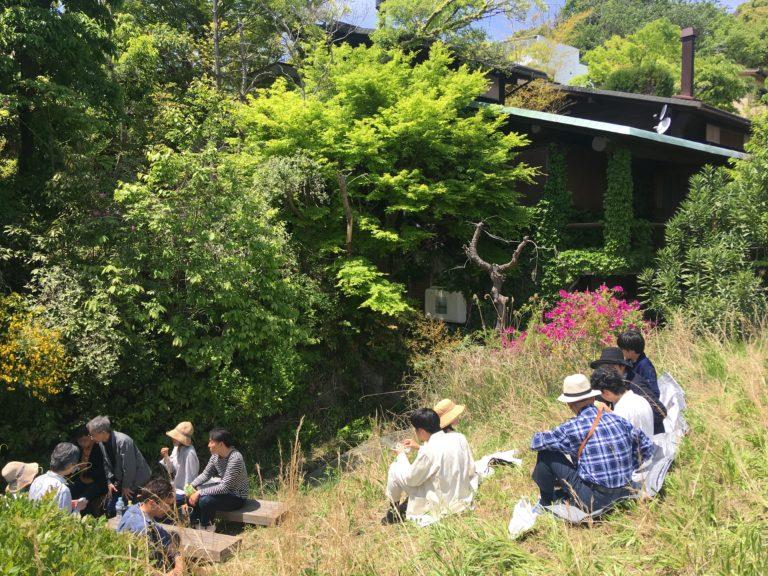 目神山の家-屋根の上でランチ,神戸,設計事務所