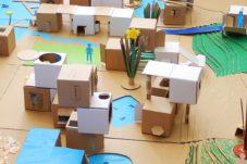 建築と子どもたち模型,神戸,設計事務所