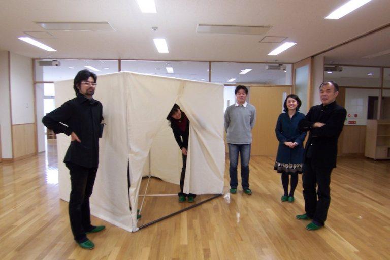 建築授業の原寸大模型,神戸,設計事務所