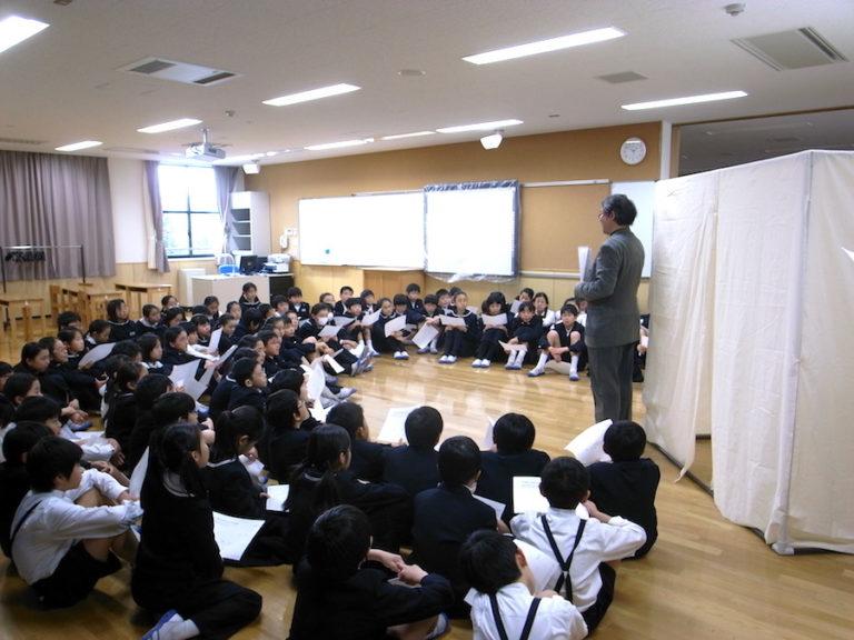 関西学院初等部での建築出前授業,神戸,設計事務所