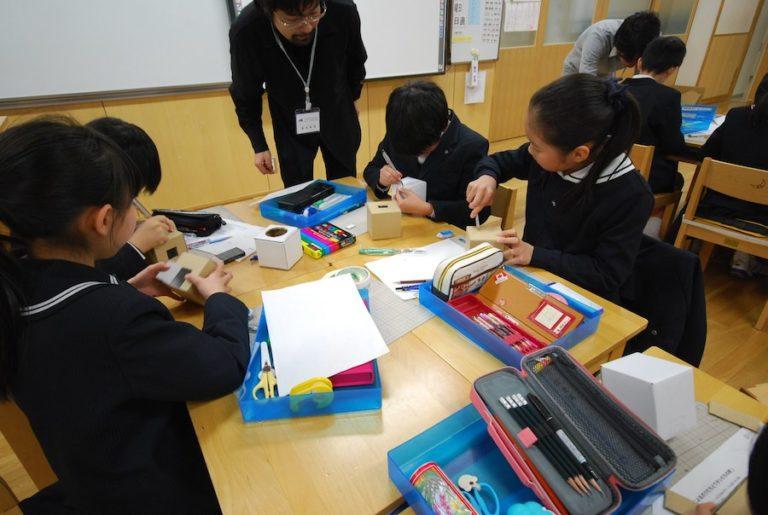 関西学院初等部での建築ワークショップ,神戸,設計事務所