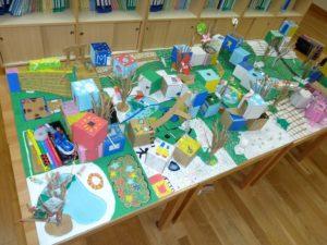関西学院初等部建築授業で子どもたちがつくった模型,神戸,設計事務所